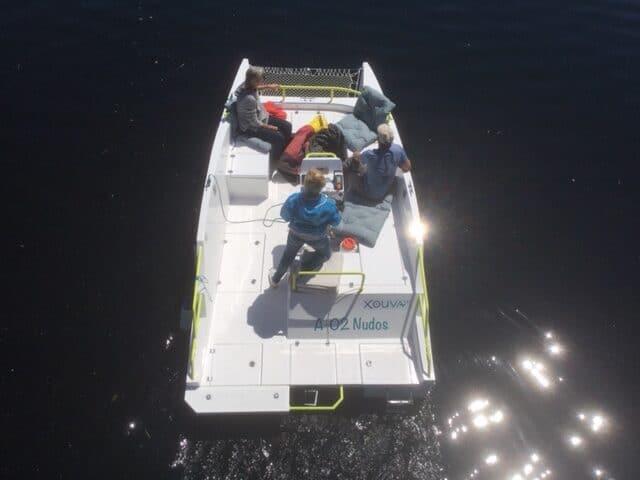A-02Nudos la nueva embarcación de A-02Velas